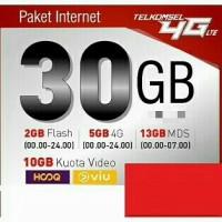 kartu perdana paket kuota internet simpati 30gb murah