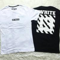 Jual off white kaos tumblr tee t-shirt wanita cowo unisex xl big size Murah