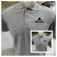 Harga kaos baju polo shirt eiger tshirt pria | Hargalu.com