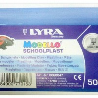 Jual Clay Lyra Modello Schoolplast 500gr Murah