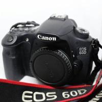 Kamera DSLR Canon 60D Body Only tanpa lensa
