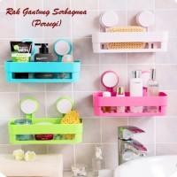 Rack Portable toilet room/Rak Pers/Rak Gantung Serbaguna Model Persegi