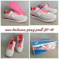 New Balance 574 Gray Pink