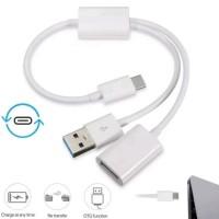 USB Type C On The Go (OTG) Y Power Hub