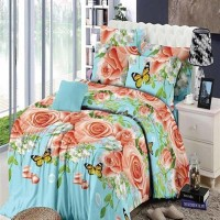 Jual Chelsea Rosewell Bed Cover + Sprei 120x200cm (Full) - Vanilla Rose Murah