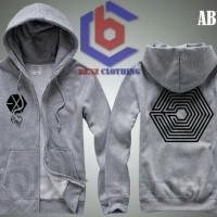 Hoodie Zipper EXO OVERDOSE Logo
