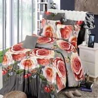 Jual Chelsea Rosewell Bed Cover + Sprei 120x200cm (Full) - Clarissa Murah