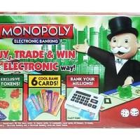 Mainan monopoli MONOPOLY ELECTRONIC BANKING - 6136D