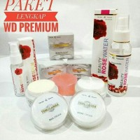 paket cream wd siang,malam,sabun, beauty rose serum, beauty rose water
