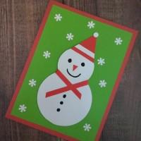 Kartu Ucapan Hari Natal (Merry Christmas) Handmade (03)