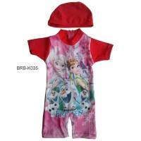 Baju Renang Bayi Karakter Frozen K035