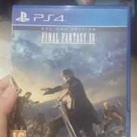Jual BD PS4 Final Fantasy XV Murah