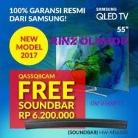 LED TV SAMSUNG 55 QLED SMART TV PREMIUM 4K UHD CURVED 55Q8C