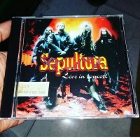 CD Sepultura - Live In Concert