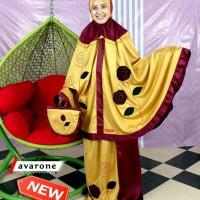 Mukena Satin Avarone by mukena Fathiya ukuran xl