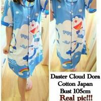Daster Dora Family Bhn Katun Jepang baju tidur piyama