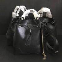 Tas Furla Original / Furla Stacy Small Bucket Bag Onyx Black