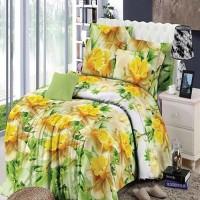 Jual Chelsea Rosewell Bed Cover + Sprei 120x200cm (Full) - Golden Rose Murah