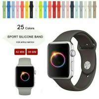Jual Rubber Strap for Apple Watch iWatch Tali Jam Karet Sport Band Murah