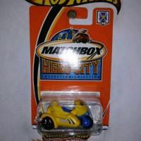 Matchbox Hero City Motor Roda 3 Police MBX