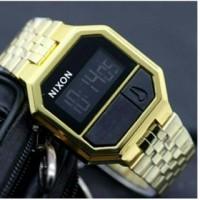 Nixon NX001 Watch/Jam Tangan Digital Gold