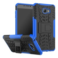 Hard Case Samsung C9 PRO 2017 C9PRO Rugged Armor Kickstand Soft Case
