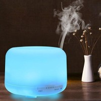 Jual Essential Oil Aroma Diffuser Humidifier 7 LED Color Night Light-500ML Murah
