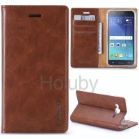 Samsung Galaxy J1 Ace - Goospery Bluemoon Flip Cover Wallet Case