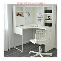 Jual IKEA MICKE Meja Kerja Sudut/ Meja Komputer/ Meja Belajar- Putih Murah