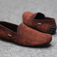 SEPATU KULIT SUEDE LOAFERS SLIP ON SPERRY WATCHOUT CEVANY MOCCLEA