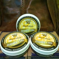 Jual biopolish leather care beeswax polish poles tas jaket sepatu kulit Murah