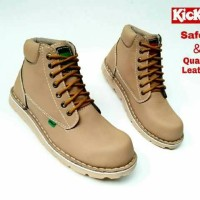 Jual Sepatu Boot Kickers Safety LowBoot Steel Toe ( Ujung Besi ) Murah