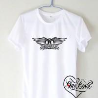 Jual Kaos Aerosmith Band Logo Murah