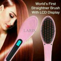 Jual LARIS Catok sisir pelurus rambut hqt-906 / fast hair / PLUS BUBBLE Murah