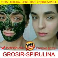 Masker Spirulina Jaminan Asli 100% Kualitas Import - Kapsul - Murah
