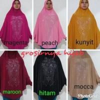 Terbaru Hijab - Jilbab Instan Syar'I - Syeirra Syari Lengan Spesial