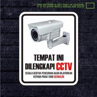 Harga EXCLUSIVE Sticker CCTV Rumah Kantor Dan Mobil LARIS   WIKIPRICE INDONESIA