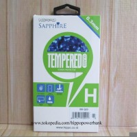 Jual Hippo Sapphire Tempered Glass Blackberry BB Classic Q20 Murah