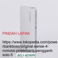 Jual Promo Powerbank Romoss solo 5 ORI Murah
