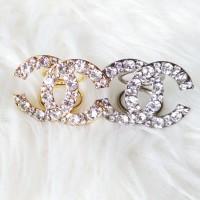 Cincin / Ring Kerudung / Jilbab / Syal Gold Channel 6