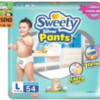 Pampers Sweety silver pants L54/ sweety L 54 diaper