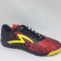 Sepatu futsal specs original Dynamite black/emperor red new 2018