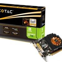 VGA Zotac GT 730 2GB DDR3 garansi resmi 1TAHUN