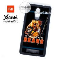 Casing Xiaomi Redmi Note 3 Bears Vs Packers Hard Case Custom