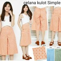 Celana Kulot Batik Model Simple