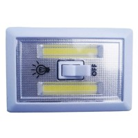 Jual LAMPU TEMPEL LED KOTAK STICK TOUCH LAMP COB LED 3W Murah
