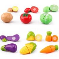 Mainan Anak Potong Buah dan Sayur 20 PCS