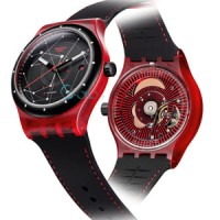 Swatch SISTEM RED SUTR400 ORIGINAL