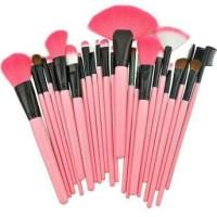 Dompet Pink Make Up For You Brush Set isi 24 pcs ( kuas Murah