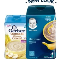 Gerber Cereal Oatmeal & Banana 227gr
